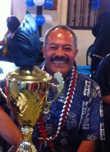 Joe Ah Kuoi - Senior Champion, Christchurch Samoan Association