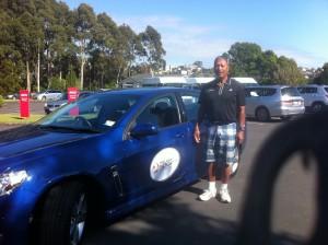 Holden sponsor